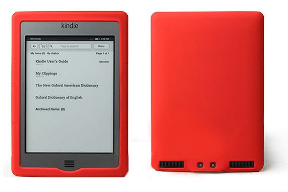 "Amazon Kindle Touch 6"" E Ink Display Silicone Protective Cover"