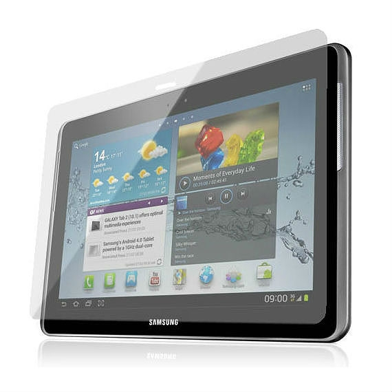 Samsung Galaxy Tab 2 (10.1) High Quality, Matte Screen Protector (Two-Piece Set)