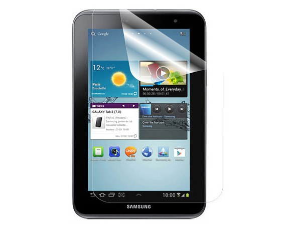 Samsung Galaxy Tab 2 (7.0) High Quality, Matte Screen Protector (Two-Piece Set)