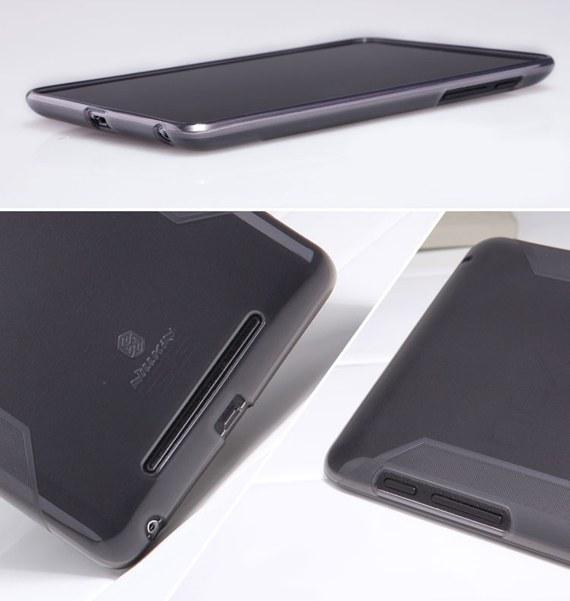 Google Nexus 7 Glossy Non-Slip TPU Case