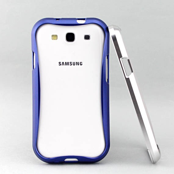 Galaxy S3 Metallic Streamline Bumper Frame Case