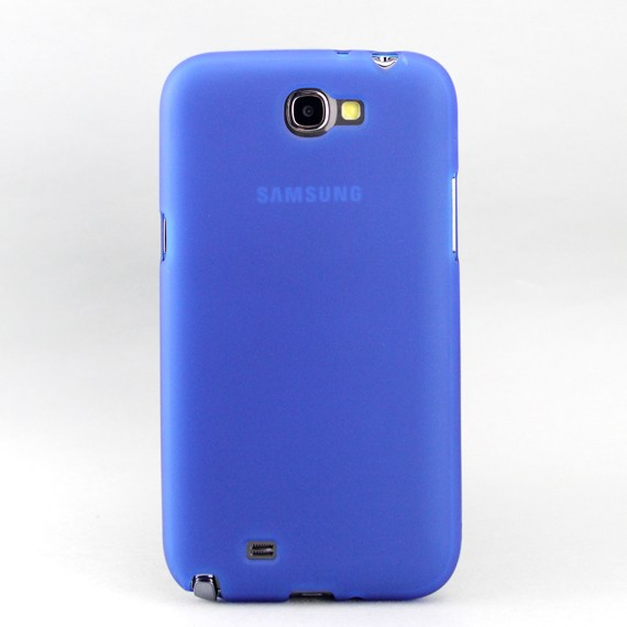 "Galaxy Note II 5.5"" Matte Jelly Case"