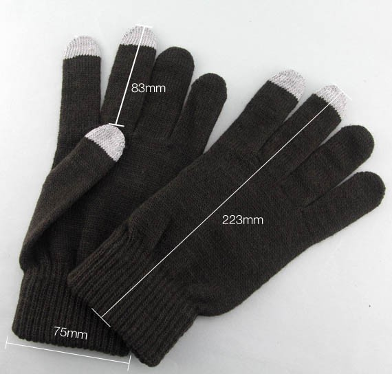 Classic Style Touchscreen Knit Gloves