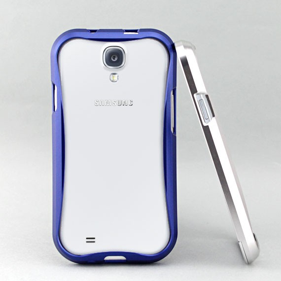 Galaxy S4 Streamlined Metallic Bumper Frame Case