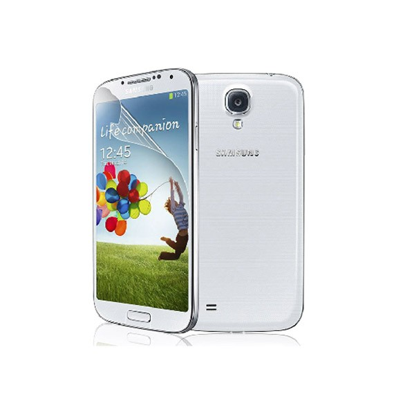 Galaxy S4 Clear Screen Protector (Two-Piece Set)