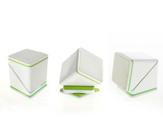 360 Degree Universal Car Mount Cube cum Desk Stand