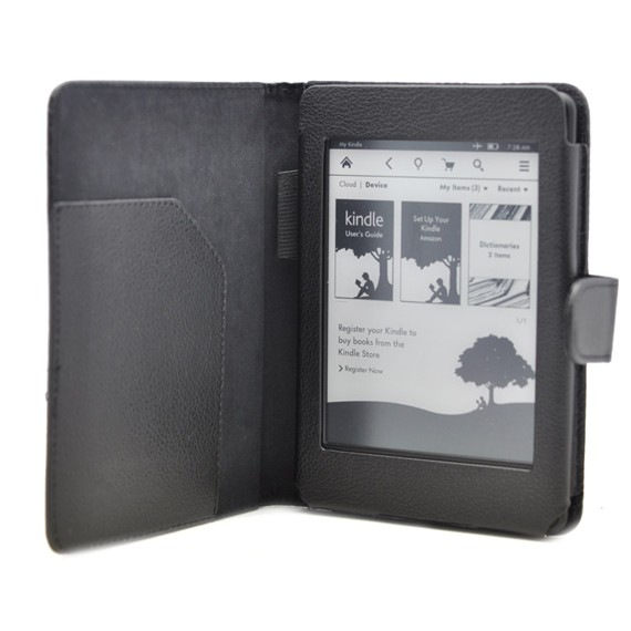 Kindle Paperwhite Folio Flip Cover with Interior Pocket