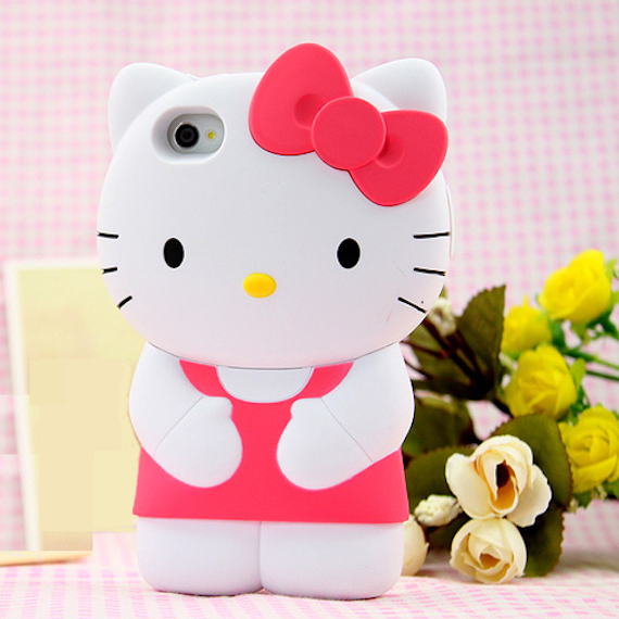Lovely Hello Kitty Soft Silicone Case  for Apple iPhone 5 / 5s