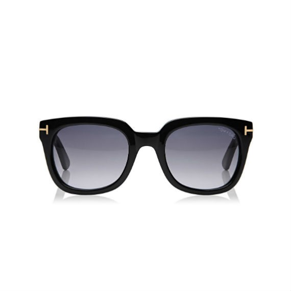 TOM FORD CAMPBELL SHINY SQUARE SUNGLASSES