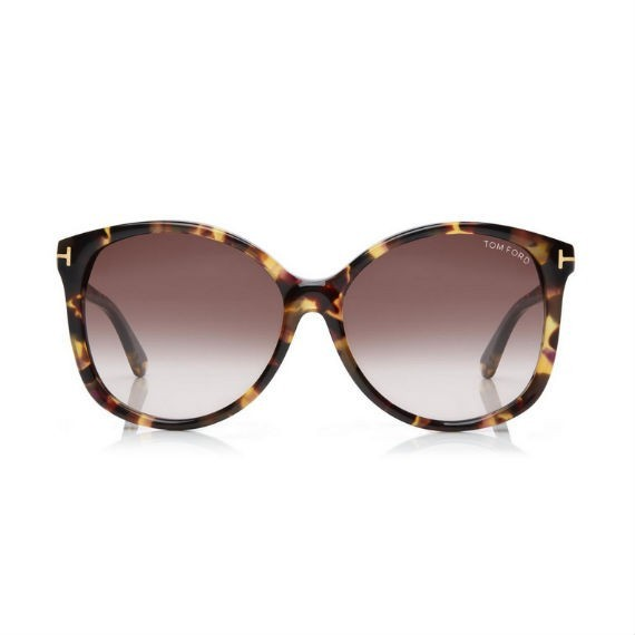 TOM FORD ALICIA SOFT ROUND SUNGLASSES