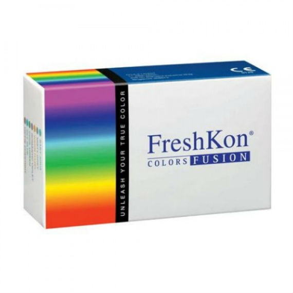 12 x 2 Lenses Pack FreshKon COLORS FUSION-Dazzlers Monthly Cosmetic Contact Lens
