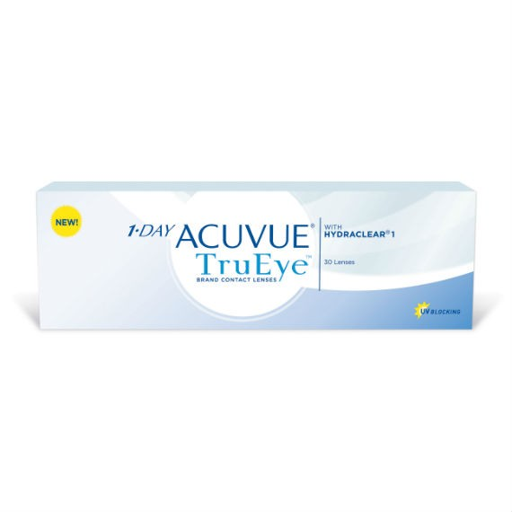 12 x 30 Lenses Acuvue 1 Day Trueye - Daily Wear - 30 Lenses