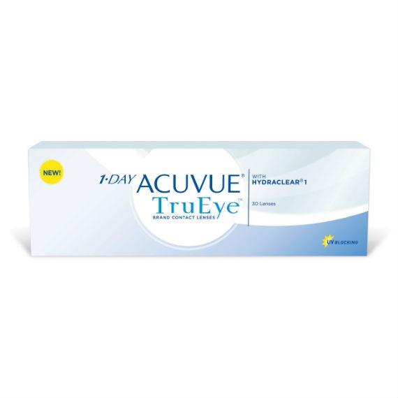 12 x 30 Lenses Acuvue 1 Day Trueye - Daily Wear - 30 Lenses