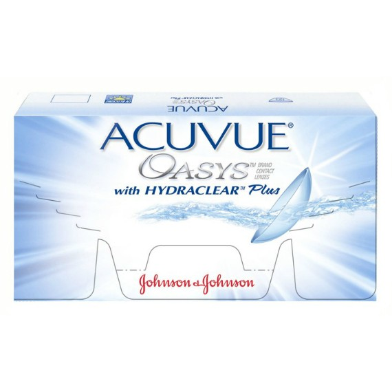 ACUVUE OASYS with HYDRACLEAR Plus -Bi-Weekly - 6 Lenses