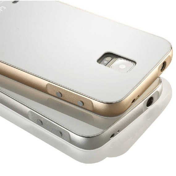 Luxury Brushed Steel Metal Plastic Hard Case Cover for Samsung Galaxy S5