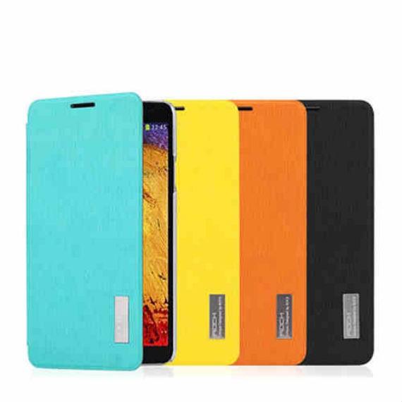 Samsung Note III Textured Leather Flip Case