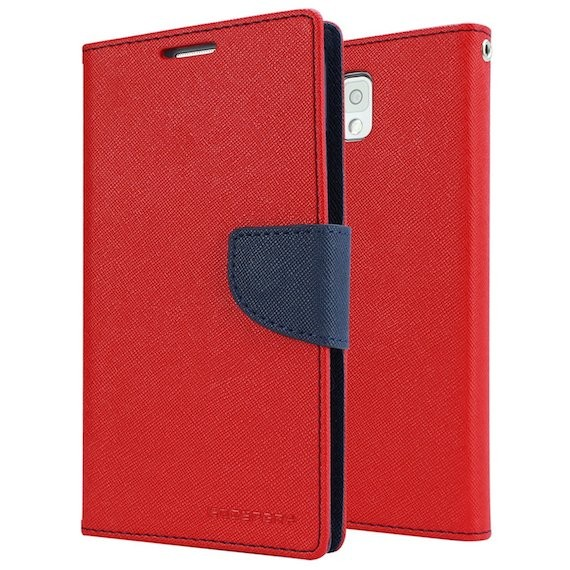 Mercury PU Wallet Case for Samsung Galaxy Note 3