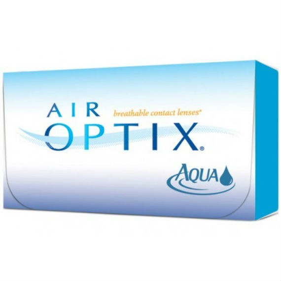 12 x 6 Lenses Air Optix Aqua - Monthly Wear