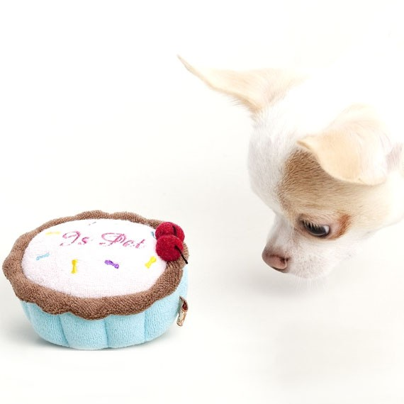 Birthday Cake Pet Toy