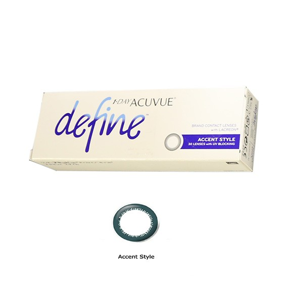 1 • DAY ACUVUE DEFINE  Daily Disposable Contact Lenses
