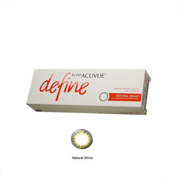 12x30 Lenses Bonus Pack (6 Months Supply) 1 • DAY ACUVUE DEFINE Daily Disposable Contact Lenses