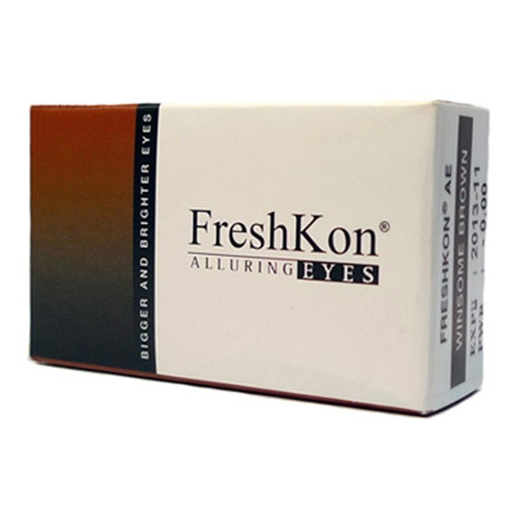 12 x 2 Lenses Bonus Pack FreshKon ALLURING EYES Monthly Cosmetic Contact Lens