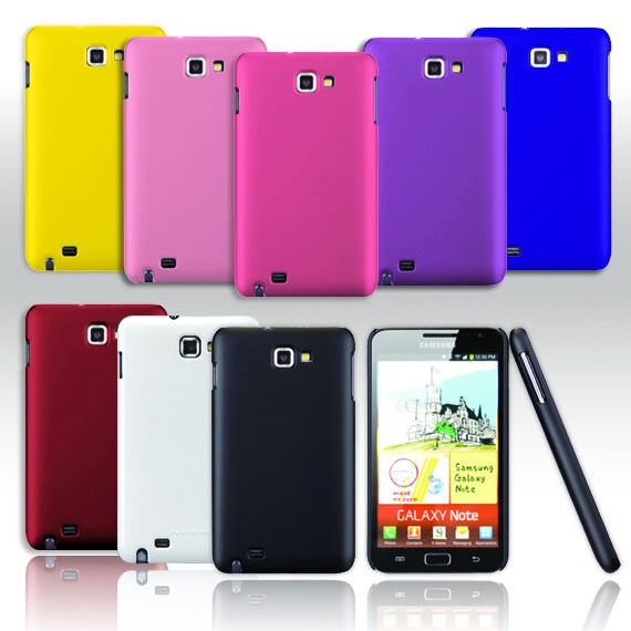 Samsung Galaxy Note i9200/ N7000 Rubberized Candy Case