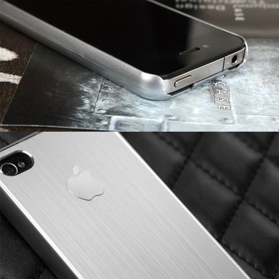 Ultra Thin Metallic Case for iPhone 4