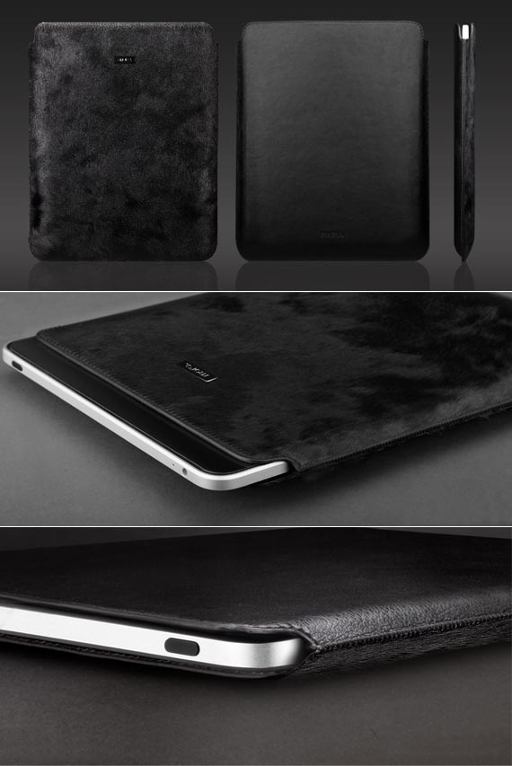 Horse Hair Safari Sleeve for The new iPad/ iPad2 / iPad