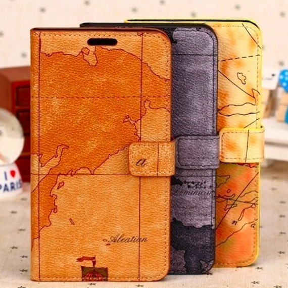 Flip Wallet Leather Case Cover Pouch For Samsung Galaxy Note III