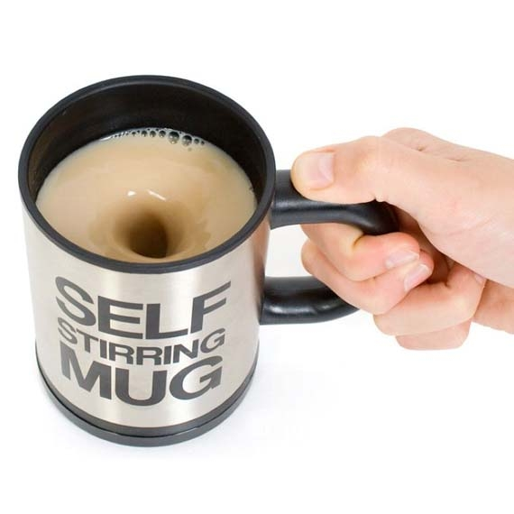 Automatic Self-Stirring Mug