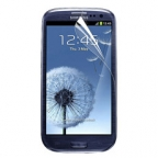 Samsung Galaxy S3 High Quality, High Definition Screen Protector (Two-Piece Set)