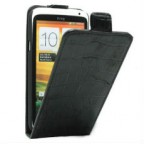 Slim Fit Leather Flip Case for HTC ONE X