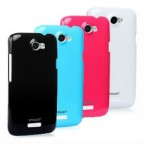 Translucent Rubber Gel Shell for HTC One X