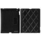 Fine Checkered Stitched Cover for the new iPad and iPad 2