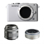 Olympus PEN Lite/E-PL3 Camera with M.Zuiko MSC Digital ED 14-42mm f3.5/5.6 n 17mm f2.8 Zoom Lens