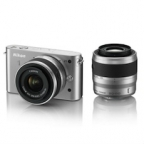 Nikon 1 J1 Digital Camera Kit With 1 NIKKOR VR 10-30mm f/3.5-5.6 n 30-110mm f/3.8-5.6 Zoom Lens