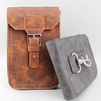 Samsung Galaxy Note II Rustic Leather Holster Case