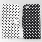 iPhone 5 Polka Dot Wallet Case