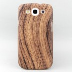 Galaxy S3 Fine Wood Grain Inspired Snap-on Case