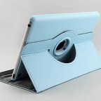 iPad mini Leather Folio Case with 360 Built-in Stand