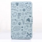 Galaxy S4 Korean Style Cartoon Flip Case
