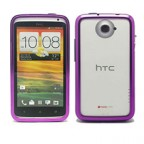 HTC One X Sleek Metallic Bumper Case