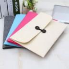 Envelope Style Wool Felt Sleeve Case for Macbook Air