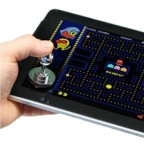 Stick-on Joystick for your iPad &other Tablets (No wires, bluetooth, driver etc)