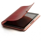Leather Arc Cover for The new iPad / iPad2