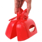 Portable Mini Pooper-Scooper with Tissue Refills and Dispenser