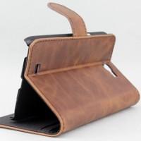 Galaxy Note II 5.5 Vintage Leather Wallet Case