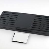 New Black Color Tobacco Rectangular Smoking Cigar Humidor Humidifier