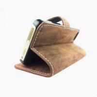 iPhone 5 Vintage Leather Wallet Case